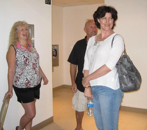 Susan Webb Vaclavick, Gary Woodring, and Priscilla Psencik.